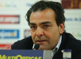 Carlos de Osma, en la rueda de prensa.