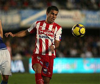 Bilic, en un lance de un partido del Sporting.