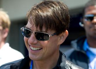 Tom Cruise, en un acto