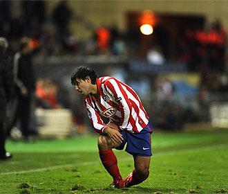 Agüero, en un lance del partido frente al Oporto.