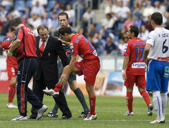 De las Cuevas se retiró con molestias el pasado domingo en Tenerife.