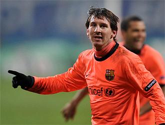 Messi celebra el 1-2