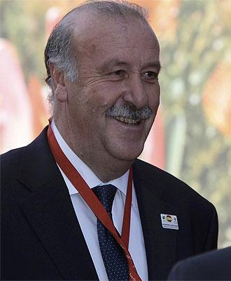 El seleccionador de Espa�a, Vicente del Bosque
