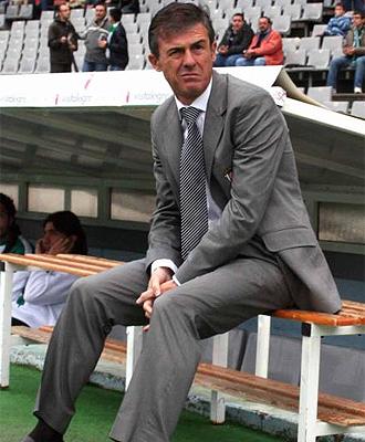 Lucas Alcaraz, durante un partido con el Córdoba