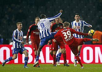 Kroos puso el empate a uno con este disparo.