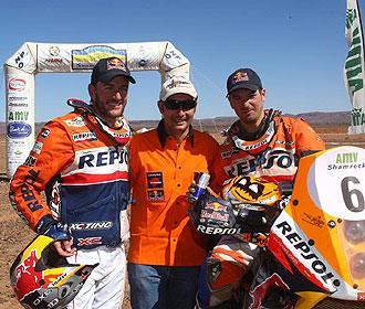 Jordi Viladecoms formar� equipo con Marc Coma en la pr�xima edici�n del m�tico Dakar