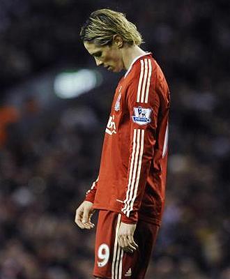 Esta vez, Torres no pudo evitar la derrota del Liverpool, que cay� en Anfield ante el Arsenal
