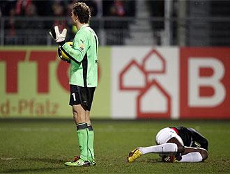Lehmann, tras agredir a Bancé