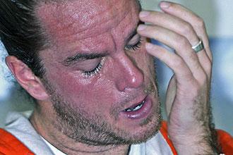 Xavier Malisse llora al hablar de su posible retirada