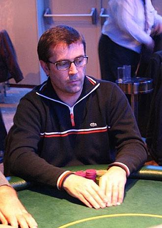 Manuel Cuberos, campe�n de Espa�a de poker.