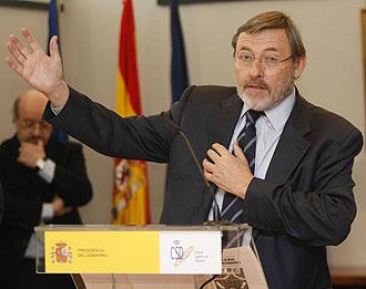El secretario de Estado para el Deporte, Jaime Lissavetzky