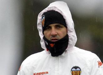 David Villa, durante un entrenamiento.