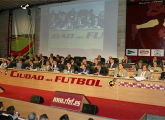 Acto celebrado en la Ciudad del F�tbol de Las Rozas