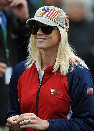 La mujer de Tiger Woods, la ex modelo sueca Elin Nordegren