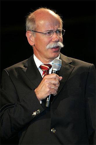 Dieter Zetsche, presidente del grupo automovil�stico Daimler