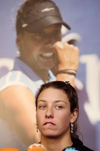 La tenista belga Yanina Wickmayer