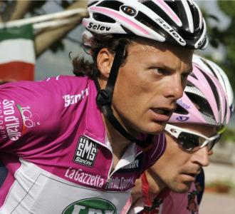 Danilo Di Luca en el pasado Giro de Italia.