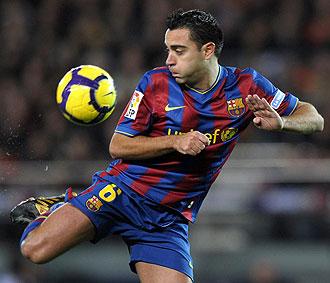 Xavi Hernández, capitán del Barcelona