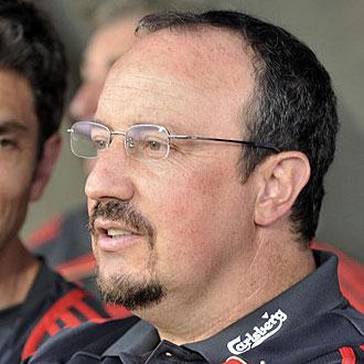 Rafa Benítez, entrenador del Liverpool