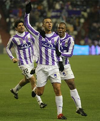 Medunjanin celebra su gol ante el Sporting.
