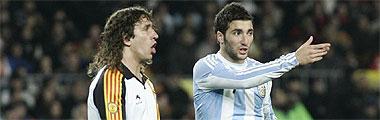 Cataluña 4-2 Argentina