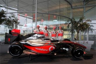 Presentaci�n del equipo McLaren de 2009