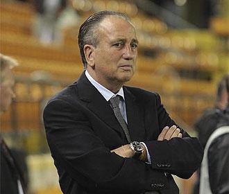 Roig, viendo un partido del Villarreal.