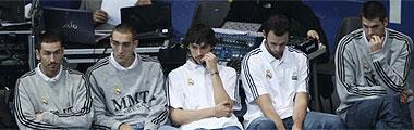 Los lesionados y no convocados del Madrid