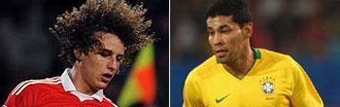 André Santos y David Luiz