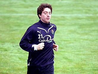 Sisi corre en un entrenamiento