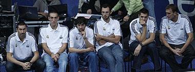 Jaric, Hervelle y los lesionados del Madrid