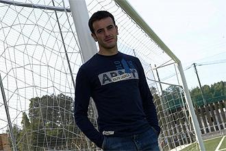 Jonathan Aspas, uno de los jugadores que se quedan en paro