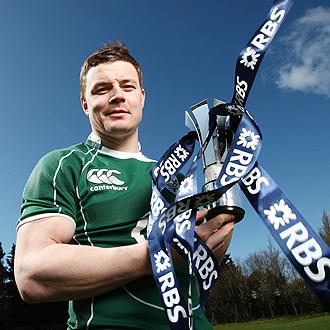 Brian O'Driscoll volvi� a ejercer de 'BOD' y, desde la capitan�a del 'XV del Tr�bol', el rubio de oro llev� a Irlanda al triunfo en el VI Naciones con Grand Slam incluido