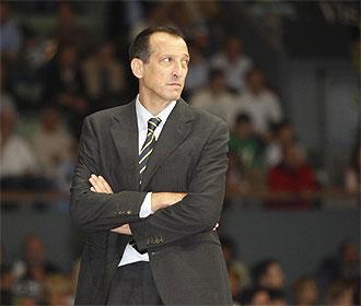 Salva Maldonado, en su �poca como entrenador del Gran Canaria.