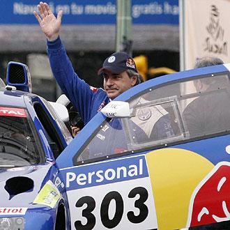 Sainz saluda antes del enlace de Buenos Aires a Col�n