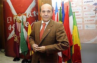 Jos� Mar�a del Nido, presidente del Sevilla.