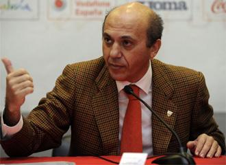 Jos� Mar�a del Nido, presidente del Sevilla