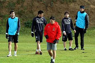 Entrenamiento del Real Valladolid