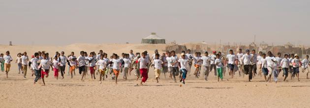 La exposici�n refleja la forma de vida de los refugiados saharauis. FOTO: Juan Manuel Bueno