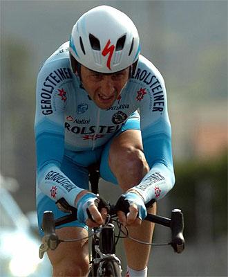 Davide Rebellin, en una imagen de archivo