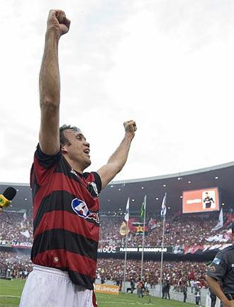 Petkovic celebra la victoria de su equipo