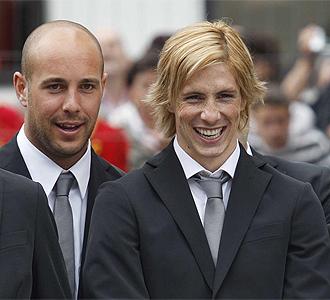 Fernando Torres y Reina en un acto.