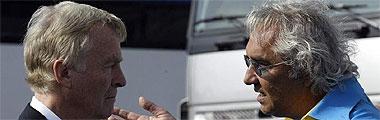 Max Mosley y Briatore