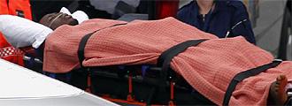 Obilale, trasladado al hospital