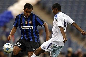 Alessandro Mancini, durante un partido del Inter, en una imagen de archivo