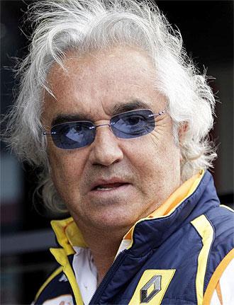 El ex jefe de Renault, Flavio Briatore
