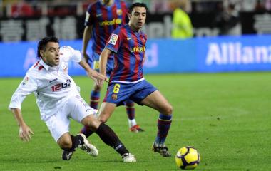 Sigue en directo el Sevilla-Barcelona