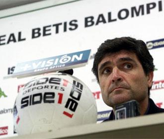 Juande, durante su etapa como entrenador del Betis.