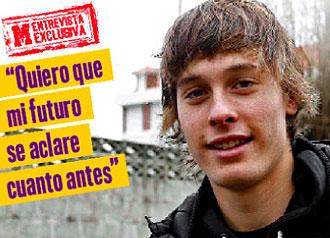 Sergio Canales concedió una entrevista exclusiva a MARCA