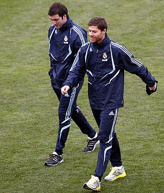 Higua�n y Xabi Alonso, dos de los lesionados del Madrid